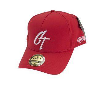 Cuzy T Men's Red/White CT Snap Back Cap